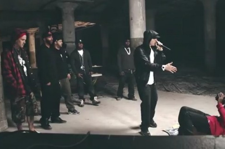 Shady Records Cypher 2011 – Behind The Scenes