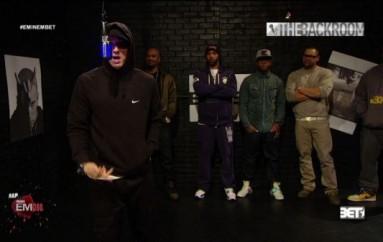 Eminem & Slaughterhouse Freestyle in the Backroom (BET)