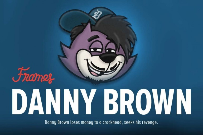 """Frames: Danny Brown – """"Gypped by a Crackhead"""""""