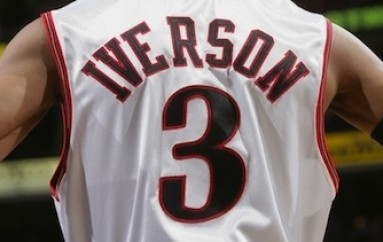 Allen Iverson's Number Retired by the 76ers
