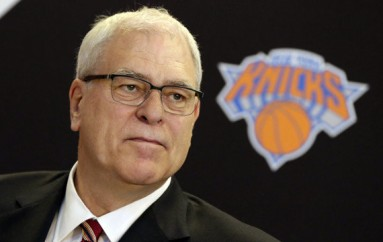 Phil Jackson Introduced To Knicks Fans At MSG