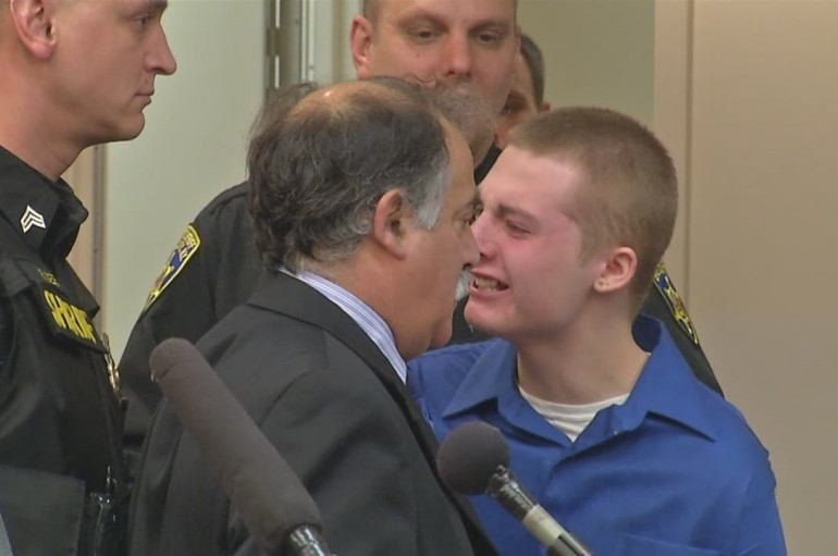 Teen Cries Out During Sentencing In Court