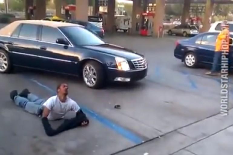 Trucker Gives Guy A Beatdown Of A Lifetime