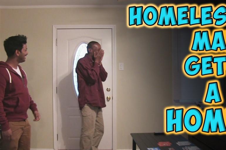 Penguin Magic Presents: Homeless Man Gets A Home