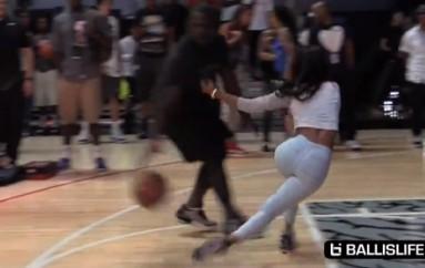 Rapper Teyana Taylor Hit With Killer Crossover