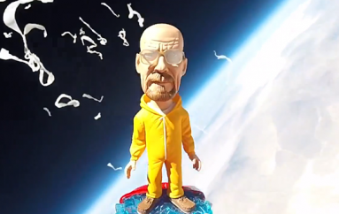 Walter White (Breaking Bad) In Space