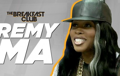 Remy Ma at The Breakfast Club