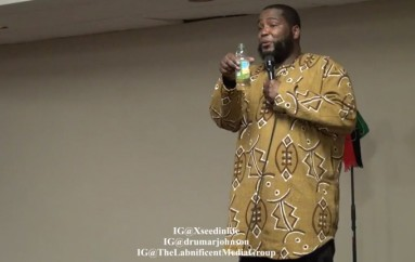 Dr. Umar Johnson Confronted By LGBT Feminist During Xseed In Life Program