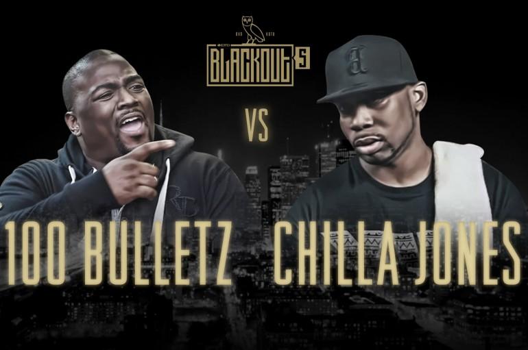 Chilla Jones vs 100 Bulletz (KOTD)