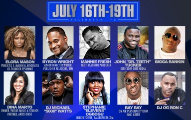 Mannie Fresh, OG Ron C, Bay Bay, Elora Mason And More To Attend Texas Entertainment Summit (July 16-19, 2015)