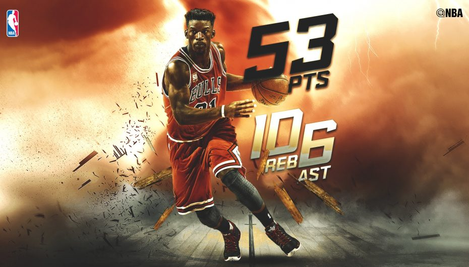 Jimmy Butler Drops Career-High 53 Points