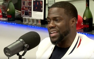 Kevin Hart at the Breakfast Club