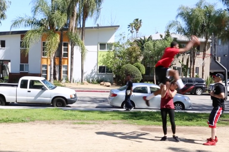 Ballup's G Smith Pranks People By Dunking On Them