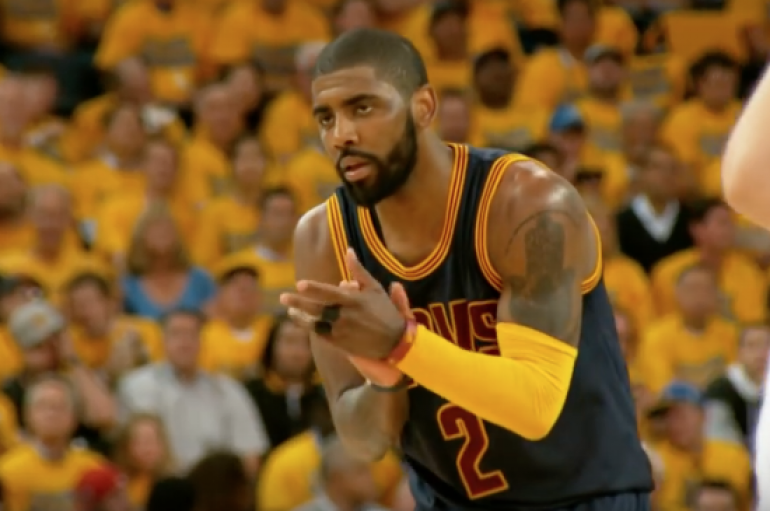 Kyrie Irving's 2016 Finals Highlights in Slow Motion