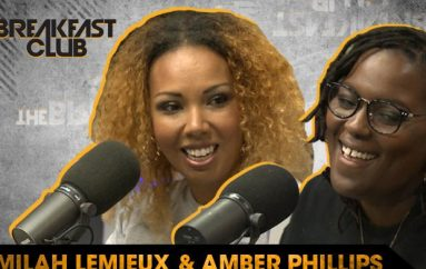 Jamilah Lemieux & Amber Phillips Discuss Cultural Journalism with The Breakfast Club