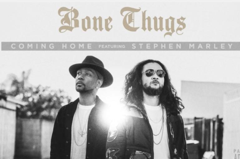 "Krayzie Bone and Bizzy Bone Return as ""Bone Thugs"" with New Single ft. Stephen Marley ""Coming Home"" (Audio)"