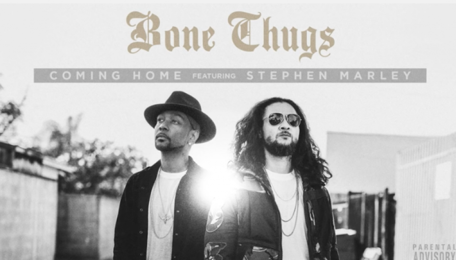 "Krayzie Bone and Bizzy Bone Return as ""Bone Thugs"" with New Single ft. Stephen Marley ""Coming Home"" (Audio)"