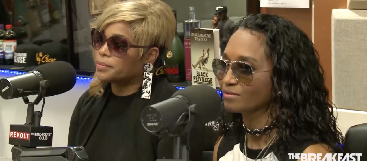 """TLC Visits """"The Breakfast Club"""" To Talk About New Album"""