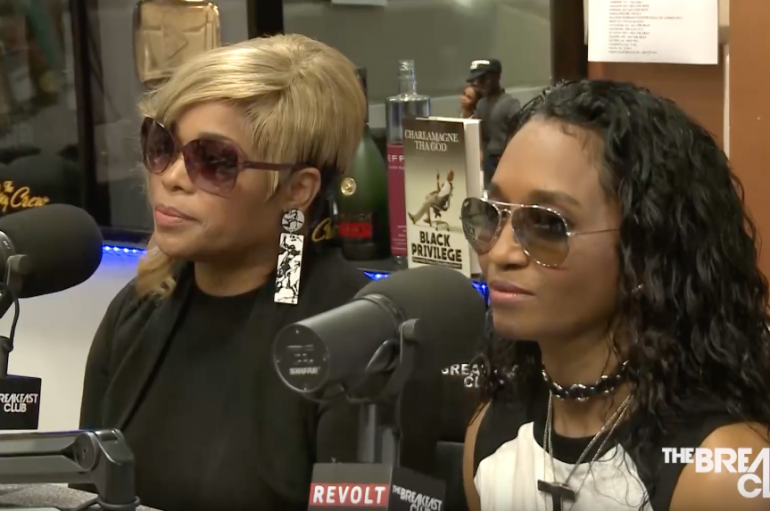 "TLC Visits ""The Breakfast Club"" To Talk About New Album"
